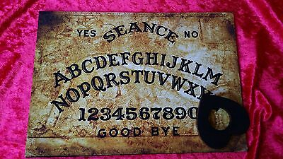 Acrylic Magic Old London Seance Ouija Board & Planchette Ghost Witchcraft Spirit