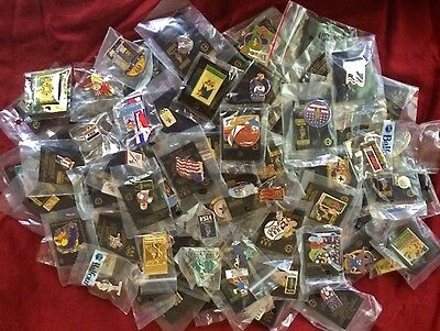 Lot~Set of 100 Different Olympic Pin Badge~NEW~NO DUPLICATES!~Great Deal!!!