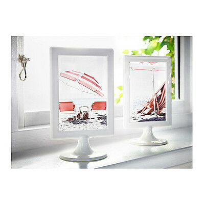 ikea picture frame double sided 4x6 wedding birthday party fit 2