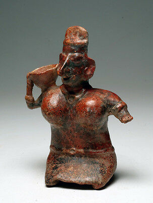 B.c.a.d. Art - 100 B.c. - 200 A.d. Jalisco Seated Female Figure