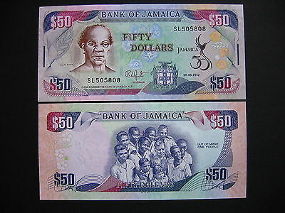 JAMAICA  50 Dollars 06.08.2012 Commemorative Issue  (P89)  UNC