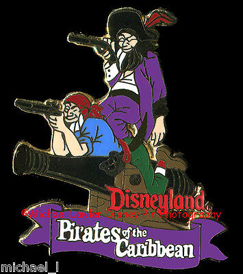 DISNEY DLR 1998 ATTRACTION SERIES PIRATES OF THE CARIBBEAN PIN NEW ORLEANS SQUAR