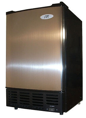 Sunpentown SPT 12 Lbs. Stainless Steel Undercounter Ice Maker  - IM-150US