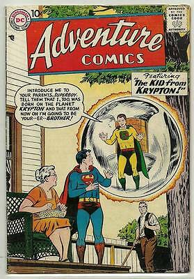 Adventure Comics # 242 [Superboy] VG+ Nice Clean Copy
