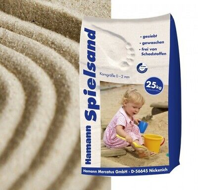 (0,29€/1kg) Spielsand Classic 25 kg Sack