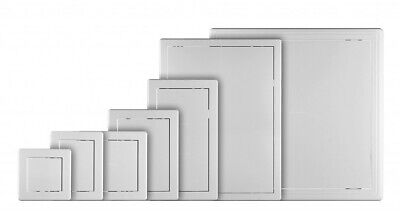 White Access Panel Inspection Door Revision Hatch 150mm 200mm 250mm 300mm A