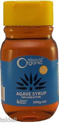 AGAVE SYRUP 500ml ABSOLUTE ORGANIC - Product of Mexico
