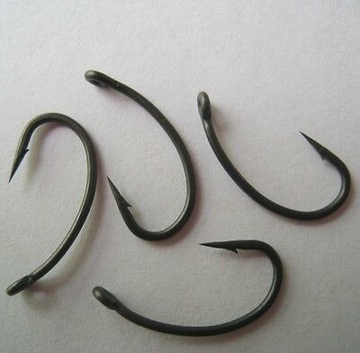Teflon Coated Carp Hooks,Gripper Style,Barbed and Barbless,Various sizes and QTY