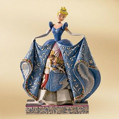 Cinderella Romantic Waltz Disney Figurine By Jim Shore - 4007216 - NIB!