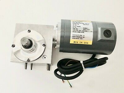 NEW Gear Drive Motor for Middleby Conveyor- PS360