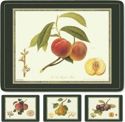 Queens Hookers Fruit 4 Large Placemats (Pimpernel) Bnib