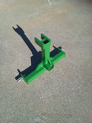 CAT 0 Farm Tractor Skid 3 Point Hitch Drawbar Receiver Hitch