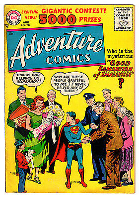 Adventure Comics #227 4.0 Tan To Cream Pages Silver Age Superboy
