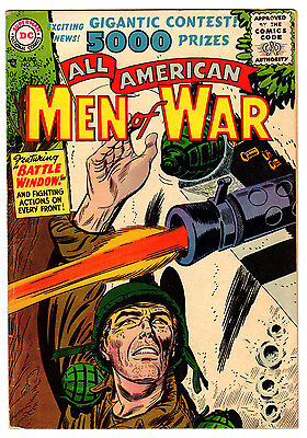 All American Men Of War #36 4.5 Cream To Off-White Pages Silver Age