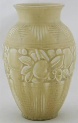 "ROOKWOOD PRODUCTION 6.5"" VASE 1937 IN WONDERFUL MATTE YELLOW GLAZE MINT"