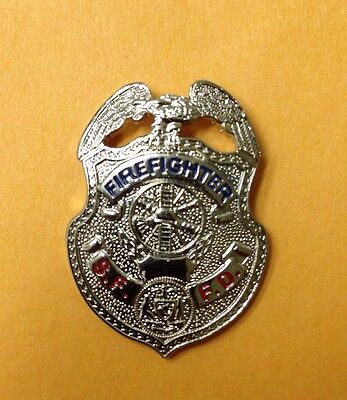 Official SFFD San Francisco Fire Department Firefighter Pin Version 2 Badge