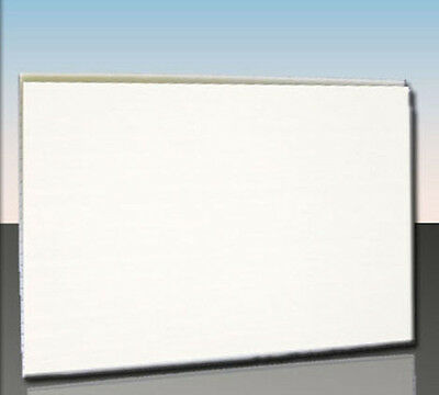 Caravan Interior Lining Wall Ceiling Gloss White PVC Sample pack 4pc 250x100x8mm