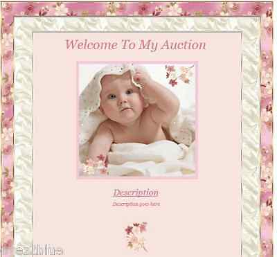 Cherry Blossom Baby Reborn Baby Auction Listing Template