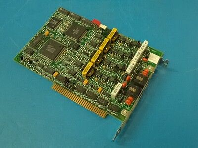 Dialogic D/41Dhs, 85-0163-002, 4-Port Isa Voice Board