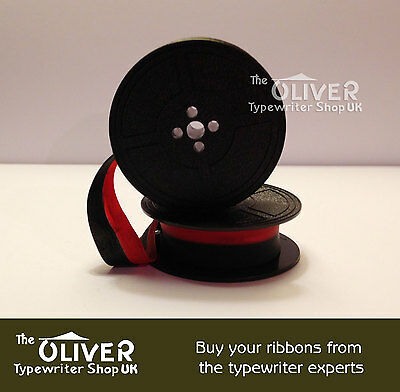 Hermes Typewriter Ribbon (Red and Black).     ***High Quality***