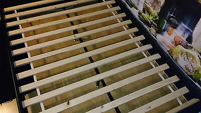 Double Size Bed Slats - Pine Wood Bed Slats For Replacement 4FT6 - 136,5 cm