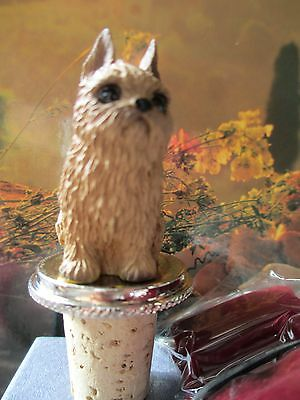 Brussels Griffon  Red    ~   Dog Wine Stopper