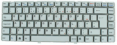Sony Vaio Vgn-Nw Nw20Ef Nw20Sf Nw11S Pcg-7185M 148738411 Keyboard Uk Layout F39