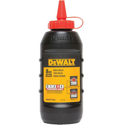 8 OZ Red Chalk DeWalt DWHT47048 New