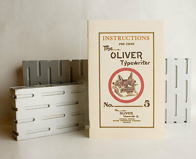 Oliver Typewriter No. 5 Instruction Manual • EUR 5,74