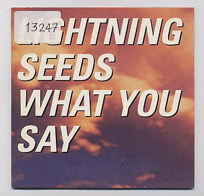 LIGHTNING SEEDS Cd Single WHAT YOU SAY 1 track 1997