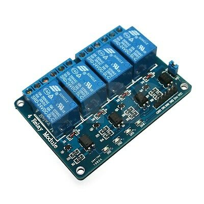 4-Channel 24V Relay Module Coupling Optocoupler High Trigger For MCU Arduino