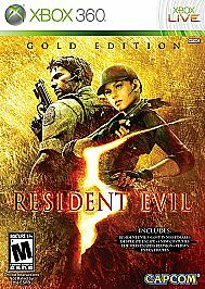 Resident Evil 5: Gold Edition  (Xbox 360, 2010)