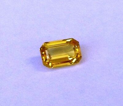 Central QLD Gemstone - Beautiful natural yellow sapphire 0.73ct