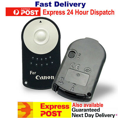 NEW RC-6 Wireless IR Shutter Remote Control for Canon Digital Camera Infrared