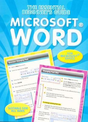 The Essential Beginner's Guide To Microsoft Word Office - Wh3 -Sd-Pb - New Book
