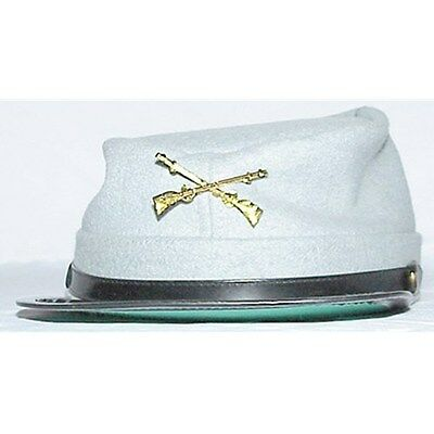 REPRODUCTION CONFEDERATE WOOL CIVIL WAR CHILDRENS KEPI SIZE LARGE NEW