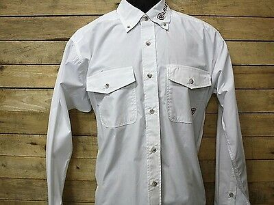 ARIAT - Men's Team Competition Shirt - White - ( 10008102 ) - New