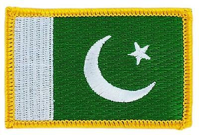 Patch écusson brodé Drapeau PAKISTAN   FLAG Thermocollant Insigne Blason