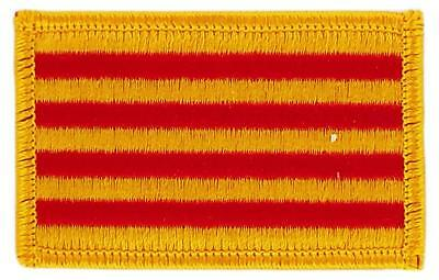 Patch écusson brodé Drapeau CATALOGNE CATALAN  Thermocollant Insigne Blason