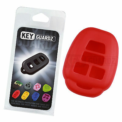 Keyguardz Red Keyless Entry Remote Jacket Skin Cover Protector Fob Shell Case