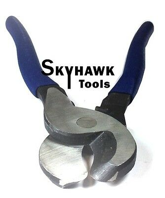 "New 10"" Steel Wire and Cable Cutter Double Dipped Handle"