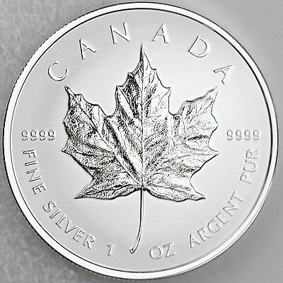Canada 2014 $5 Maple Leaf 1 oz. Pure Silver Numismatic Variety Reverse Proof