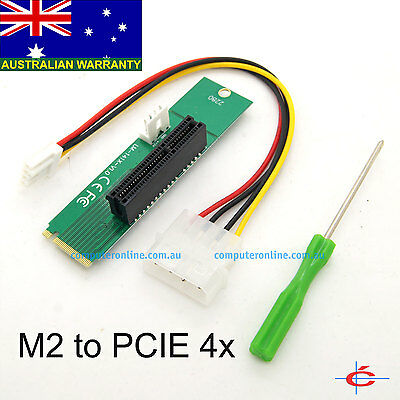 M.2 Socket to PCI Express Slot Converter Adapter for Motherboard PCIE Expansion