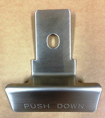 Crathco Gringmaster 2484 Push Down Lever Non Magnetic Stainless Steel Genuine