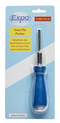 2mm PIN PUSHER FOR PLANK ON FRAME MODEL BOAT BUILDING & PECO SL14 TRACK PINS