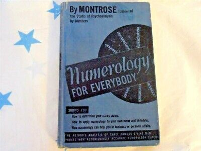 NUMEROLOGY FOR EVERYBODY.....By MONTROSE
