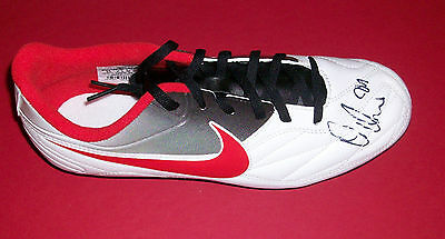 Peter Odemwingie Stoke City  Autograph Hand Signed Football Boot