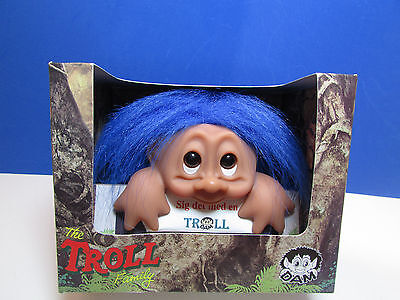 GOOD LUCK  COMPUTER TROLL - Dam PC Troll Doll - NEW IN PACKAGE