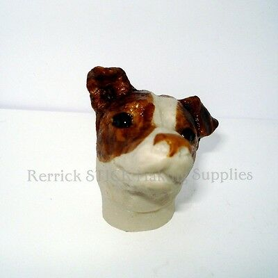 Jack Russell Cast Resin Handle For Walking Stick Making