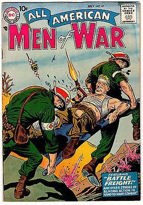 All American Men Of War #47 4.5 Off-White Pages Silver Age